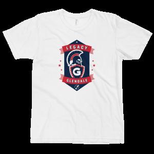 LTS Glendale Gladiators White Logo T-shirt 2020